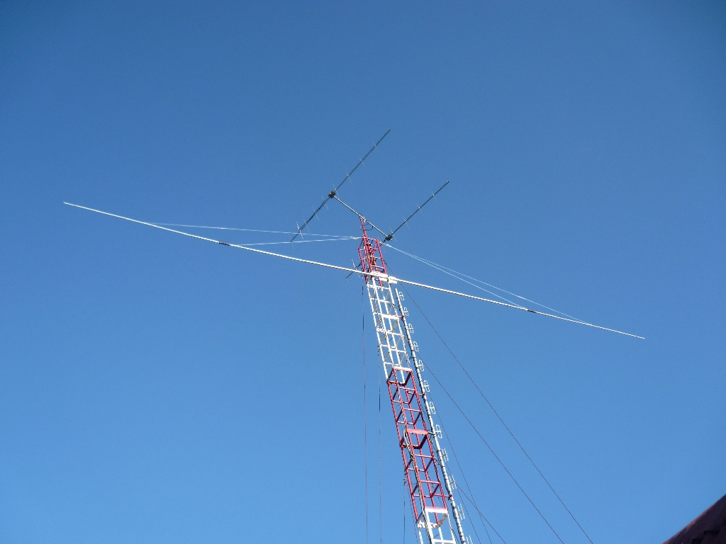 Here is another view of the DV1SGF Antennas nad Tower!!!